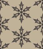 Картина винтажного цветка безшовная Стоковые Изображения RF