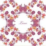 Картина винтажных роз безшовная Стоковые Фото