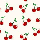картина вишни безшовная бесплатная иллюстрация