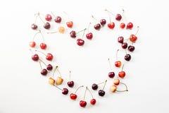 Картина вишни ягоды Стоковое фото RF