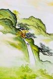 Картина водопада Стоковые Фото
