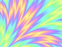 Картина волны голографического куста цвета конспекта предпосылки фольги Multi красочная Стоковое фото RF
