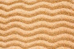 Картина волны на песке Стоковые Фото