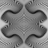Картина водоворота дизайна безшовная monochrome бесплатная иллюстрация