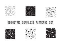 Картина всеобщего вектора lineal геометрическая безшовная Стоковая Фотография RF