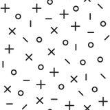 Картина всеобщей моды вектора геометрическая безшовная Стоковое фото RF
