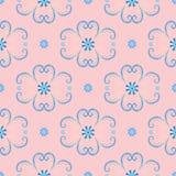 Картина вышивки геометрическая красочная этническая флористическая безшовная Стоковое Фото