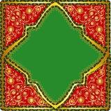 Картина в аравийском стиле Стоковая Фотография