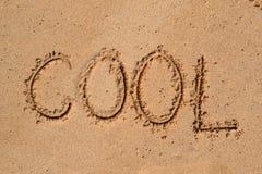 Картина в песке - охладите Стоковое Изображение RF