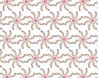 Картина в форме цветов Стоковые Изображения RF