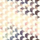 Картина геометрическая. Предпосылка с треугольниками Стоковые Фото