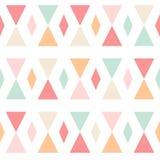 Картина геометрических абстрактных треугольников безшовная на белизне бесплатная иллюстрация