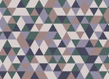Картина геометрических форм Предпосылка битника треугольника Colorf Стоковое Фото