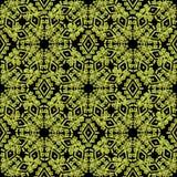 Картина геометрического абстрактного вектора безшовная Стоковое фото RF