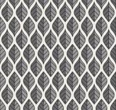 Картина геометрического вектора листьев безшовная Абстрактная текстура вектора Предпосылка лист Иллюстрация вектора