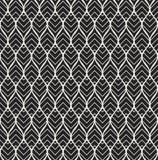 Картина геометрического вектора листьев безшовная Абстрактная текстура вектора Предпосылка лист Иллюстрация штока