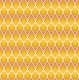Картина геометрического вектора листьев безшовная Абстрактная текстура вектора Предпосылка лист Бесплатная Иллюстрация