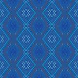 Картина геометрического вектора Rombus безшовная Стоковая Фотография