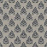 картина геометрического стиль Арт Деко 1930s самомоднейшая Стоковая Фотография RF