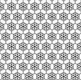 Картина геометрического цветка безшовная Стоковые Фото