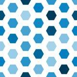 Картина геометрического шестиугольника безшовная иллюстрация вектора