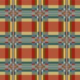 Картина геометрической ткани безшовная Стоковые Изображения