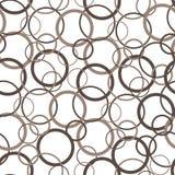 Картина геометрической точки круга безшовная Современная стильная текстура для ковра, упаковочной бумаги, ткани, предпосылки Бесплатная Иллюстрация