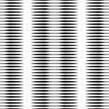 Картина горизонтальных прямых repeatable геометрическая Нашивки, штриховатости Стоковое Фото