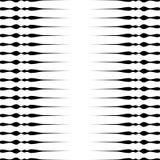 Картина горизонтальных прямых repeatable геометрическая Нашивки, штриховатости Стоковая Фотография