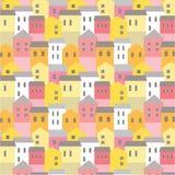 Картина городка яркая Стоковое Изображение RF