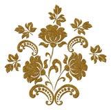 Картина года сбора винограда золота Стоковые Изображения