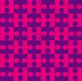 Картина головоломки безшовная иллюстрация штока