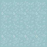 Картина голубой eps 10 рождества красоты безшовная Стоковое Изображение