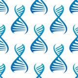 Картина голубых винтовых линий дна безшовная иллюстрация вектора