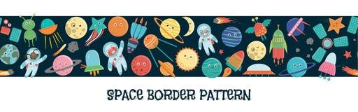 Картина границы космоса вектора бесплатная иллюстрация