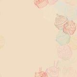Картина границы пирожного Стоковые Изображения RF