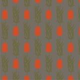 Картина декоративного вектора nouveau искусства безшовная Стоковые Изображения RF