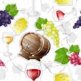 Картина делать вина стоковое изображение