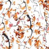 Картина дерева цветения Стоковые Изображения