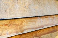 Картина деревянных брызг Изготовление деревянного антисептика против грибка стоковые фотографии rf