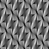 Картина дизайна безшовная monochrome развевая иллюстрация штока