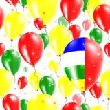 Картина Дня независимости АВТОМОБИЛЯ безшовная иллюстрация вектора