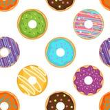 Картина донута милого kawaii сладостная иллюстрация штока
