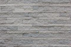 Картина декоративной белой поверхности каменной стены Стоковые Фотографии RF