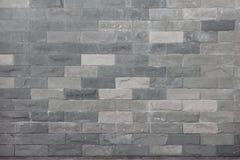 Картина декоративной белой поверхности каменной стены Стоковая Фотография RF
