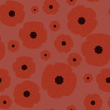 Картина день памяти погибших в первую и вторую мировые войны безшовная Стоковое Фото