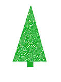 Картина дерева треугольника Стоковая Фотография RF