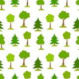 Картина деревьев Стоковое фото RF