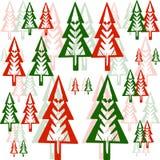 Картина деревьев Иллюстрация вектора