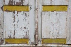 Картина деревянных штарок с затрапезной краской Стоковые Изображения